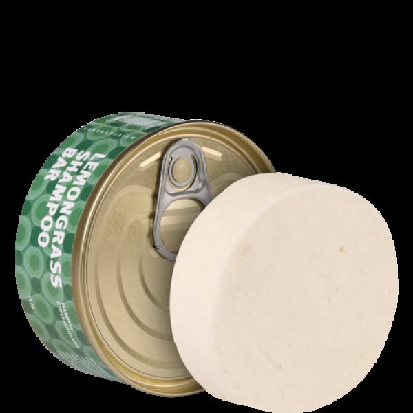 Твердый шампунь с пребиотиками Lemongrass Shampoo bar, 75 г