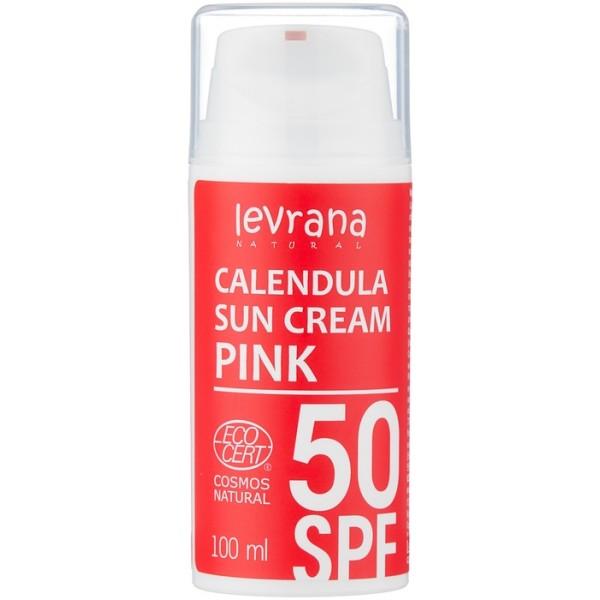 Солнцезащитный крем для тела Календула 50 SPF PINK, 100 мл