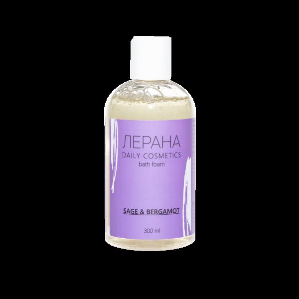 ЛЕРАНА Пена для ванны «Шалфей и бергамот», 300 мл