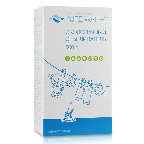 Экологичный отбеливатель Pure Water 400 гр