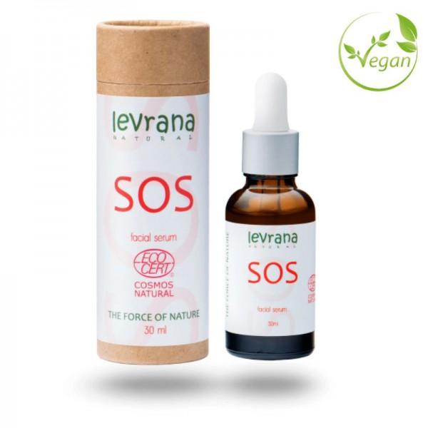 Сыворотка для лица SOS, для кожи склонной к акне, 30млECOCERT
